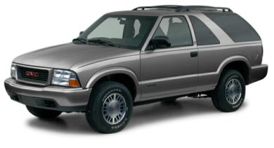 3/4 Front Glamour 2001 GMC Jimmy