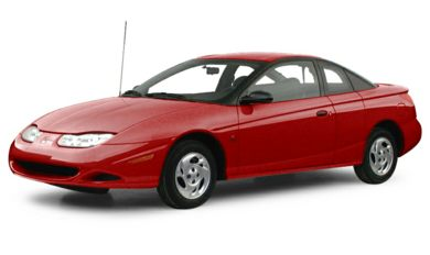 3/4 Front Glamour 2001 Saturn SC1