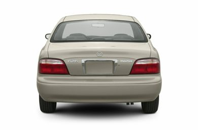 Rear Profile  2002 Mazda 626