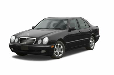 3/4 Front Glamour 2002 Mercedes-Benz E55 AMG