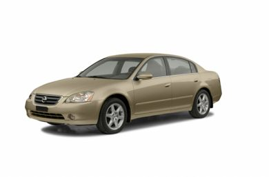 3/4 Front Glamour 2002 Nissan Altima