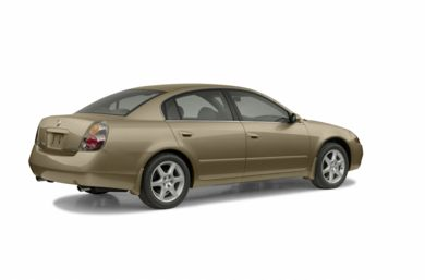 3/4 Rear Glamour  2002 Nissan Altima