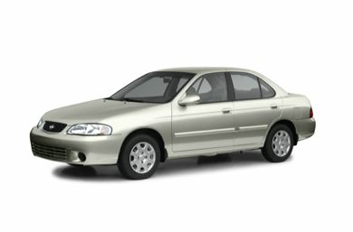 3/4 Front Glamour 2002 Nissan Sentra