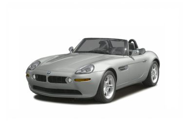 3/4 Front Glamour 2003 BMW Z8