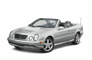 3/4 Front Glamour 2003 Mercedes-Benz CLK430