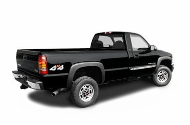2004 GMC Sierra 2500HD Specs, Safety Rating & MPG - CarsDirect