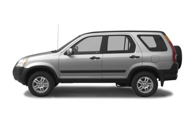 90 Degree Profile 2004 Honda CR-V