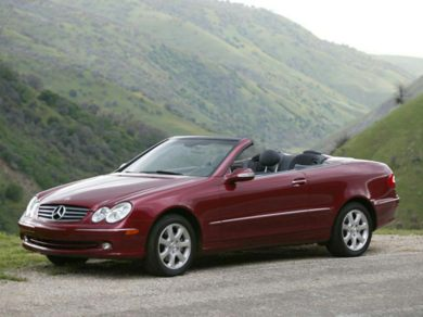 See 2004 MercedesBenz CLK500 Color Options  CarsDirect