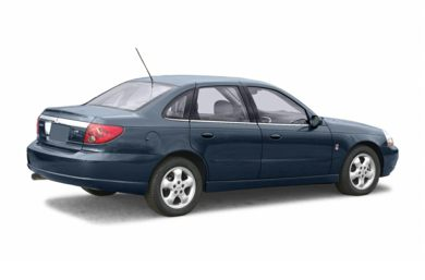 3/4 Rear Glamour  2004 Saturn L300