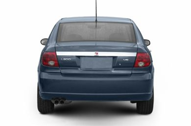 Rear Profile  2004 Saturn L300