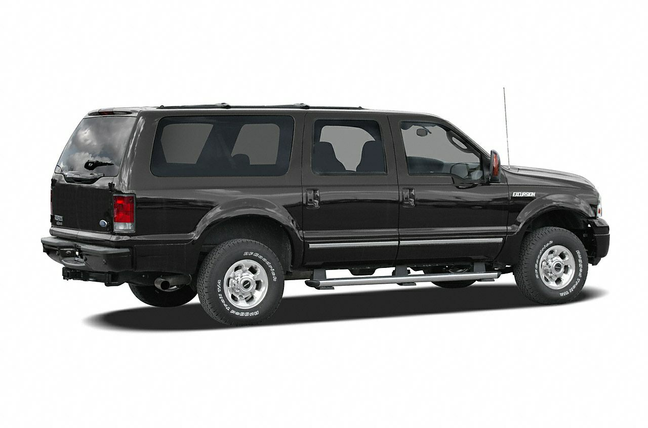 Rear Glamour  Ford Excursion