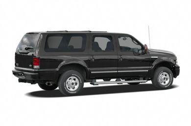 3/4 Rear Glamour  2005 Ford Excursion