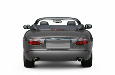 Rear Profile  2005 Jaguar XK8