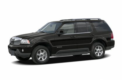 3/4 Front Glamour 2005 Lincoln Aviator