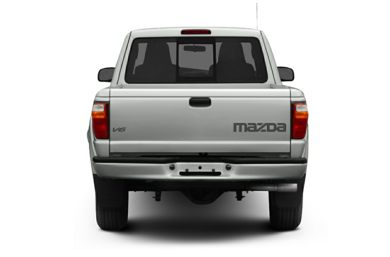 Rear Profile  2005 Mazda B4000