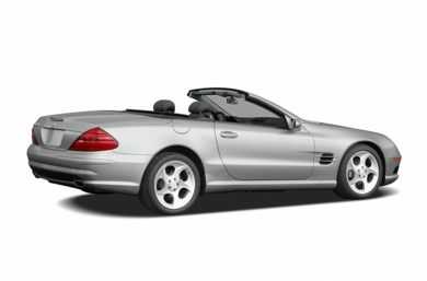 3 4 Rear Glamour 2005 Mercedes Benz Sl500
