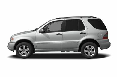 90 Degree Profile 2005 Mercedes-Benz ML500