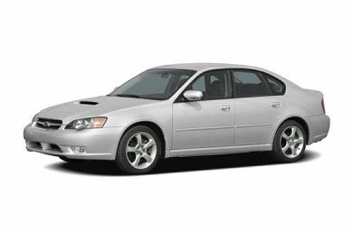 3 4 Front Glamour 2005 Subaru Legacy