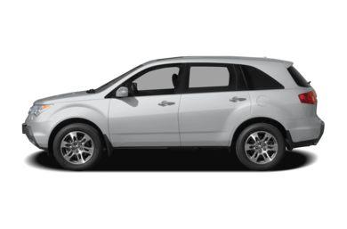 90 Degree Profile 2006 Acura MDX