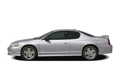 90 Degree Profile 2006 Chevrolet Monte Carlo