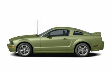 90 Degree Profile 2006 Ford Mustang