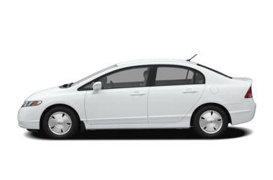 90 Degree Profile 2006 Honda Civic Hybrid