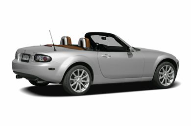 3/4 Rear Glamour  2006 Mazda MX-5