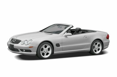 3/4 Front Glamour 2006 Mercedes-Benz SL500