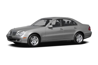 3/4 Front Glamour 2006 Mercedes-Benz E350
