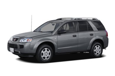 3 4 Front Glamour 2006 Saturn Vue