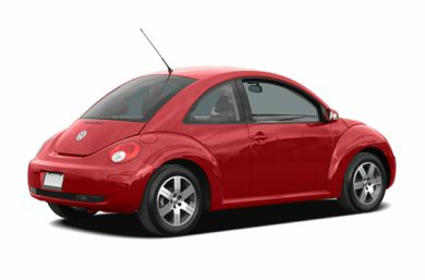 3/4 Rear Glamour  2006 Volkswagen New Beetle