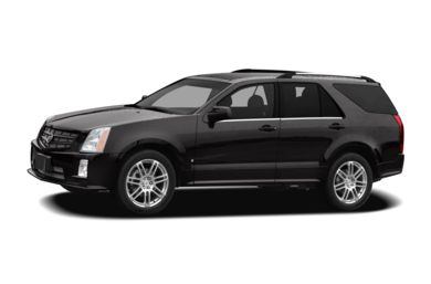 3/4 Front Glamour 2007 Cadillac SRX