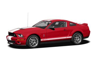 3/4 Front Glamour 2007 Ford Shelby GT500