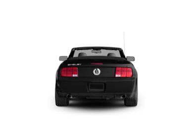 Surround Rear Profile 2007 Ford Shelby GT500