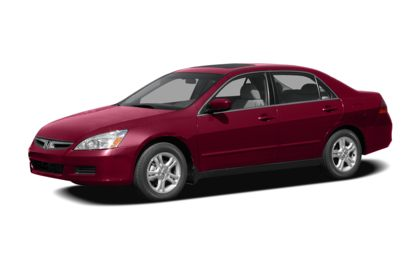 3/4 Front Glamour 2007 Honda Accord