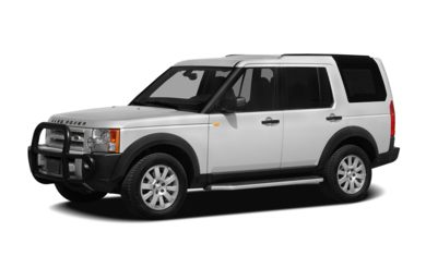 3/4 Front Glamour 2007 Land Rover LR3