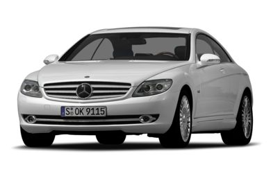 3/4 Front Glamour 2007 Mercedes-Benz CL600