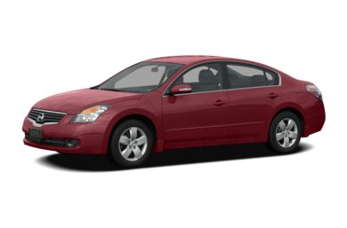 3/4 Front Glamour 2007 Nissan Altima