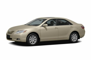 3 4 Front Glamour 2007 Toyota Camry