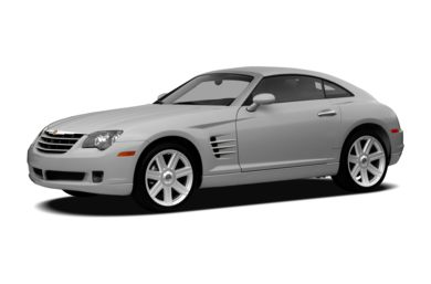 3/4 Front Glamour 2008 Chrysler Crossfire