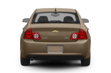 Rear Profile 2008 Chevrolet Malibu Hybrid