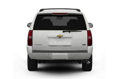 Rear Profile 2008 Chevrolet Tahoe
