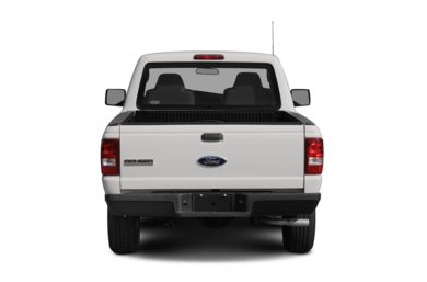 Rear Profile  2008 Ford Ranger