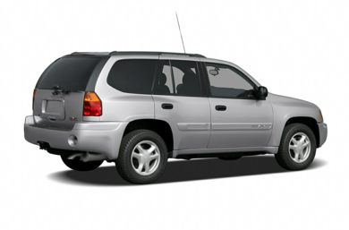3/4 Rear Glamour  2008 GMC Envoy
