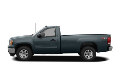 90 Degree Profile 2008 GMC Sierra 1500