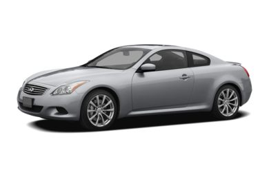 3 4 Front Glamour 2008 Infiniti G37 Coupe