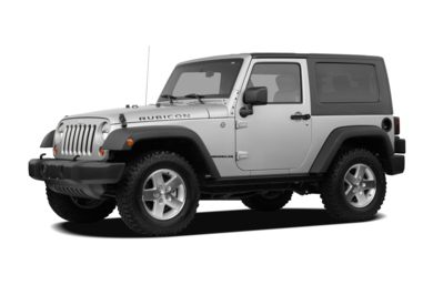3 4 Front Glamour 2008 Jeep Wrangler