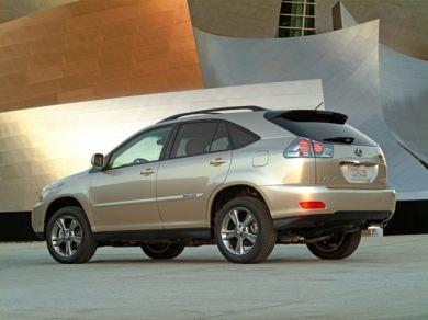 2008 lexus rx400h mpg
