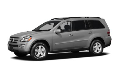 3 4 Front Glamour 2008 Mercedes Benz GL450