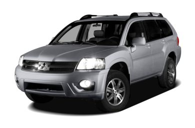 3/4 Front Glamour 2008 Mitsubishi Endeavor